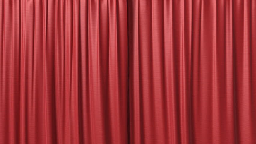 how to make stage curtains that open