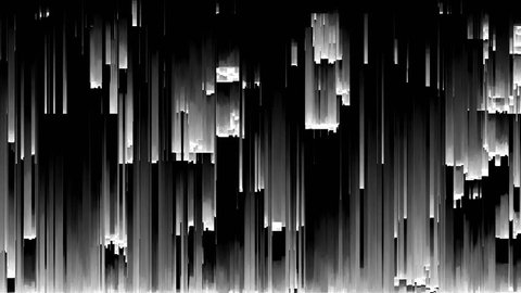 pixel sorting pattern 4. seamless animation of pixel sorting glitch effect for transitions, broadcast, podcast, LED screens, projections, audiovisual performance, music video, game design