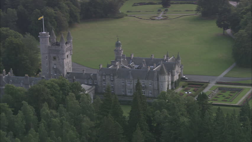 AERIAL United Kingdom-Balmoral Castle 2005: Balmoral Castle