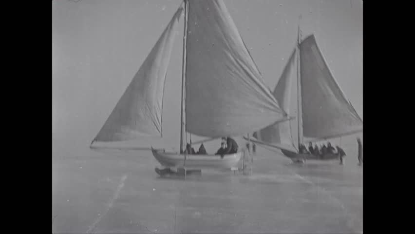 Circa 1920s - Men Ice Stock Footage Video (100% Royalty-free) 1006613515 |  Shutterstock