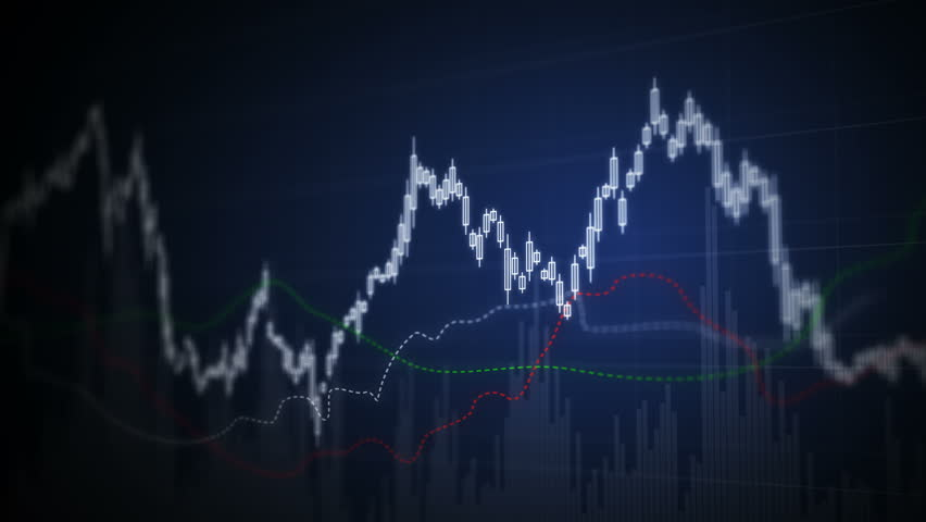 Seamless looping animation of stock market trend. | Shutterstock HD Video #1006640635