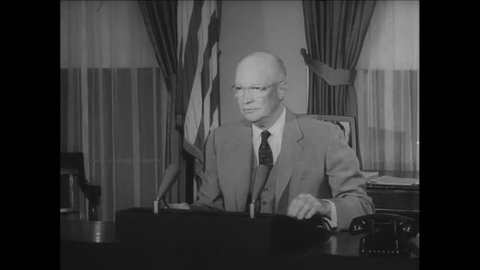 CIRCA 1957 - President Eisenhower explains why he needed to write an executive order to ensure Little Rock's Central High School would be integrated.