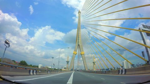 Rama VI Bridge across the Chao Phraya River Bangkok Thailand
