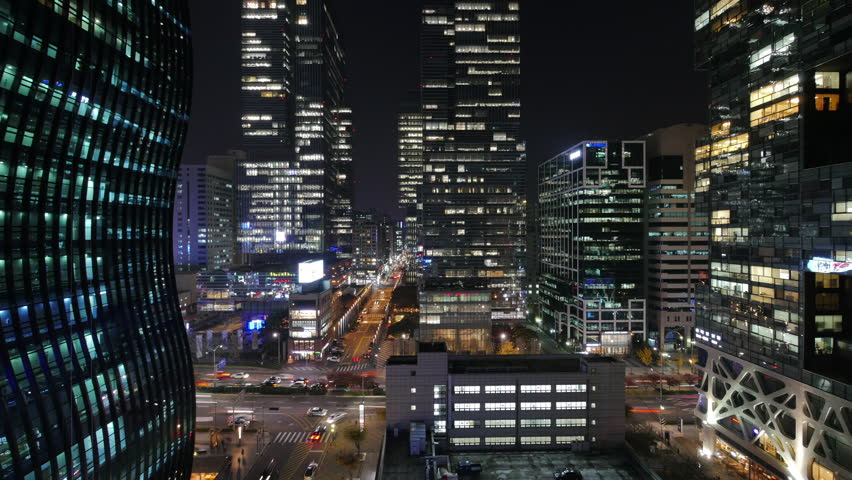 A city night view | Shutterstock HD Video #1006904035