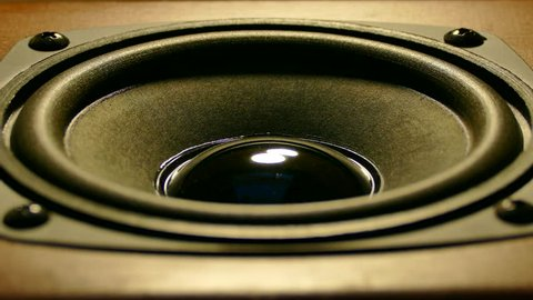 Old Speaker Cone Stock Video Footage - 4K and HD Video Clips