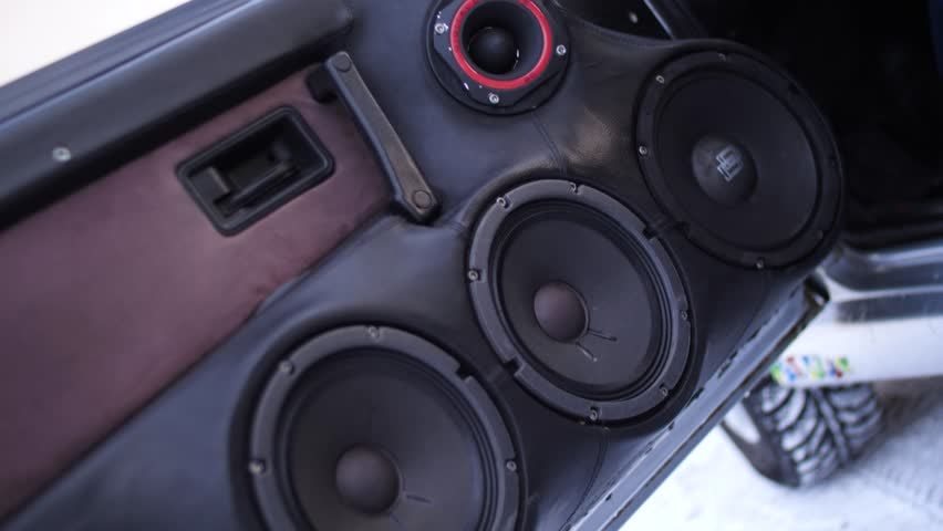 Car Audio System >> Car Audio System Close Up Stock Footage Video 100 Royalty Free 1006981345 Shutterstock