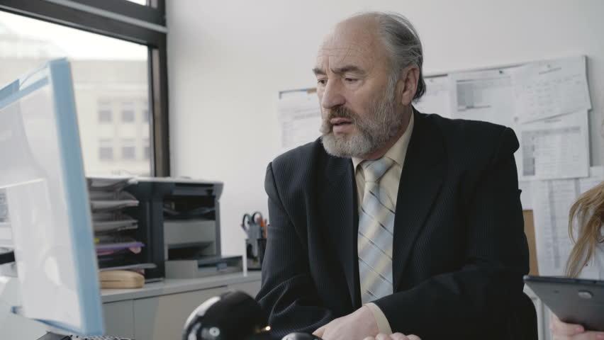 Видеокамера в кабинете у шефа