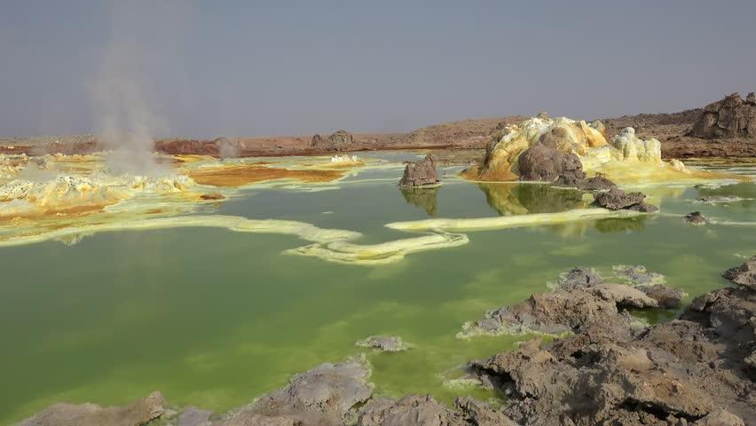 Wonderful places on the planet Earth: Desert Danakil (Ethiopia)