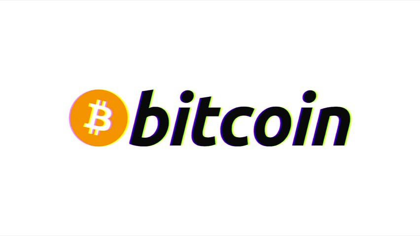 Bitcoin symbol appearing and exploding on the white background. Bitcoin Logo 3D Animation Bitcoin Crypto Currency Logo slowly rotates in a 3D studio environment.