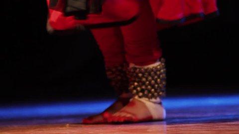 Indian Kathak Dancer