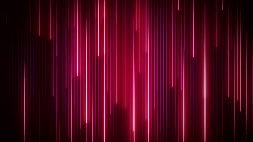 Abstract background with neon lines and flicker particles on flying stripes. Animation of seamless loop. #1007491465