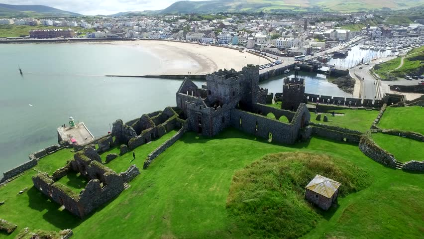 Isle Of man, United Kingdom (aerial footage) With a diverse culture and fascinating heritage, the Isle of Man's unique charm will inspire both the young and young at heart.