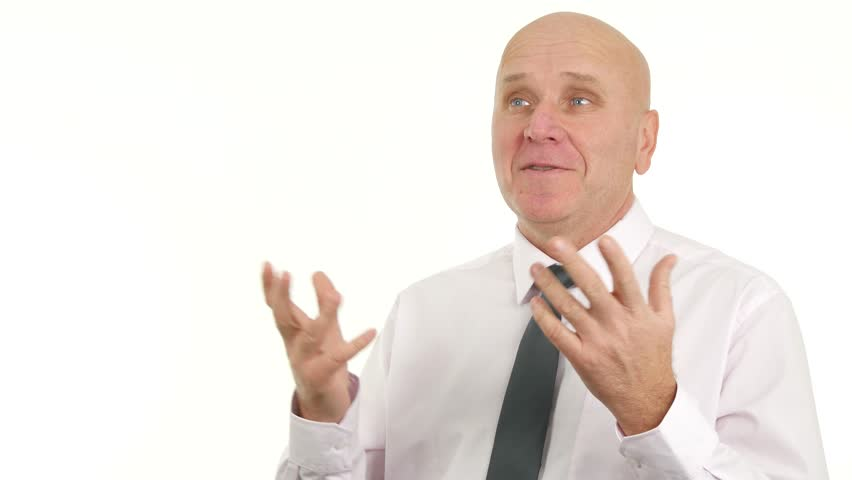 Businessman Smile Pleased and Talk in Financial Interview About Sales Business | Shutterstock HD Video #1007556028