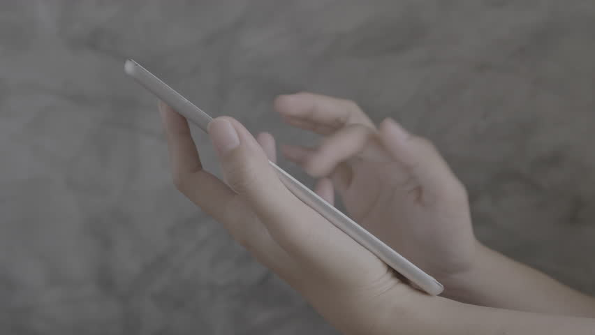 Close up of asian woman hands using tablet,Technology concept | Shutterstock HD Video #1007638330