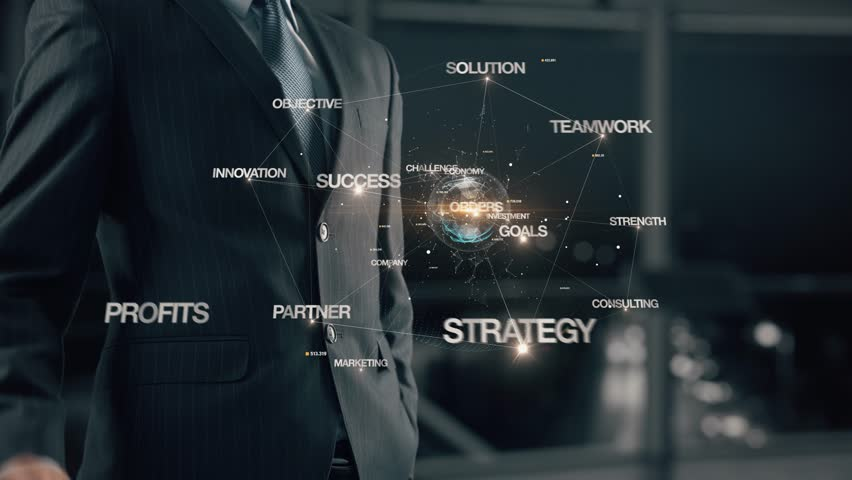 Businessman with Increase sales | Shutterstock HD Video #1007658460