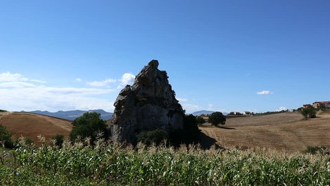 Molise is a rural region of southern Italy rich prehistoric outcrops