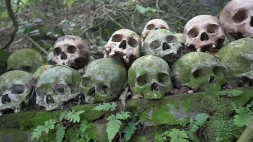 Header of ossuary