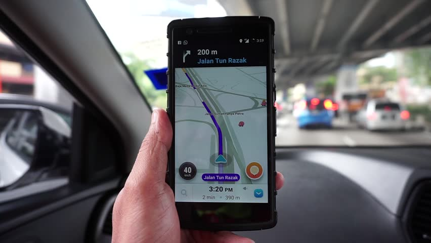 Waze Map Stock Video Footage 4k And Hd Video Clips Shutterstock