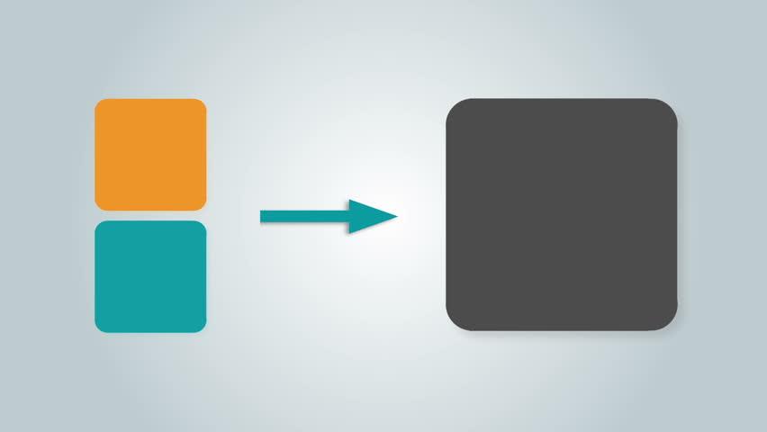 Square text box diagram for presentation.box 2