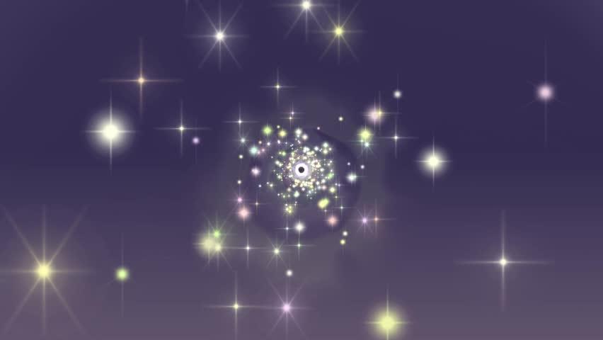 Purple Stars 4K Tunnel Background | Shutterstock HD Video #1007893255