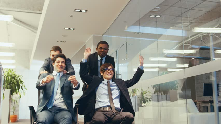businessmen fun