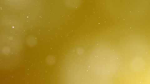Luxury gold abstract background and luxury concept. Glittering light elements with bokeh decorations on gold background design for luxury presentation.
