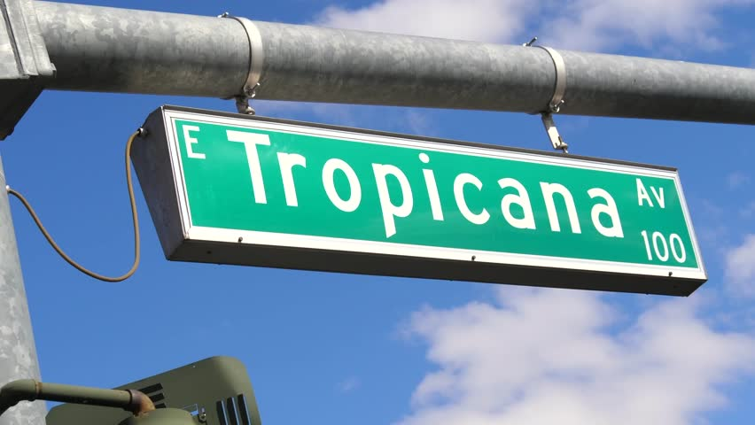 Image result for tropicana blvd.street sign las vegas