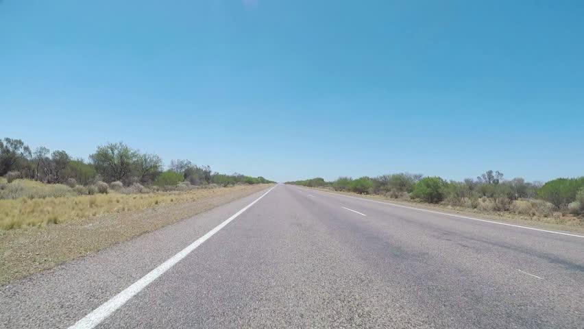 On the way on highway, North West Coastal Highway, Western Australia, Australia, Down under
