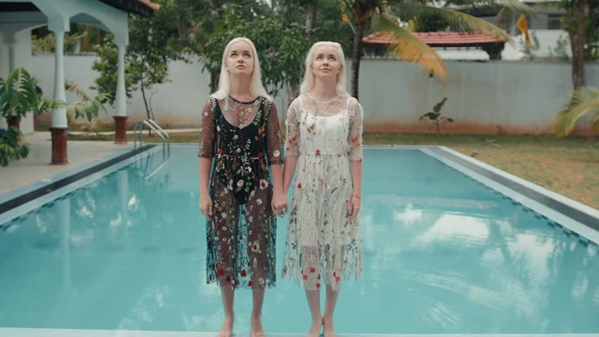 Full Dress Swimming Party