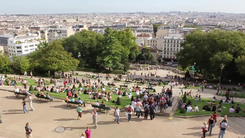 Sunny day in Paris | Shutterstock HD Video #1008872915