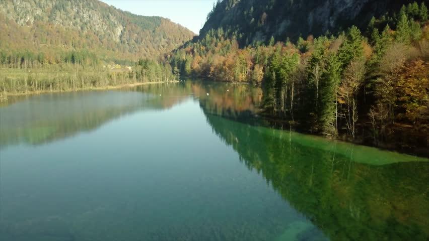 Aerial shot in the nature of austria | Shutterstock HD Video #1008947885