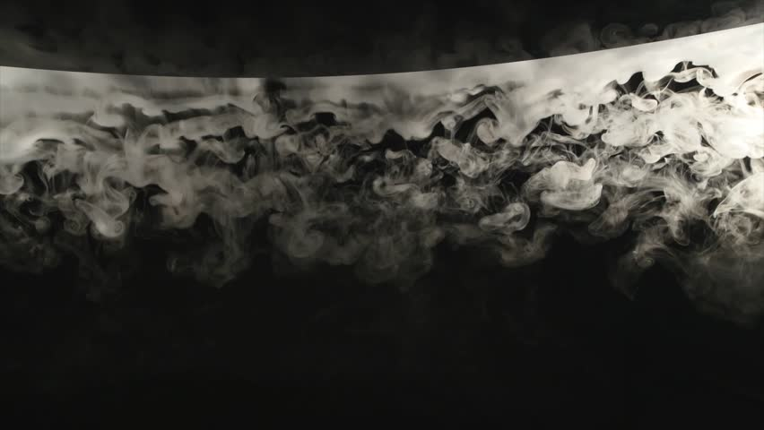 Clouds smoke abstract on black background | Shutterstock HD Video #1009007345