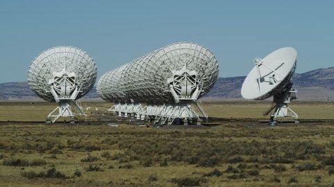 Very Large Array Radio Telescopes near Soccoro