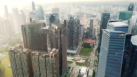 Singapore - January 17 2018: Marina One, an award winning integrated development, is set to usher in a new concept of living, working and entertaining at the heart of Singapore's vibrant new CBD