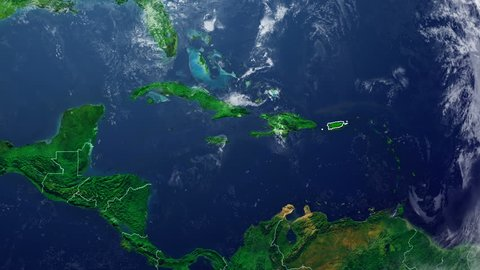 PUERTO RICO DIGITAL MAP