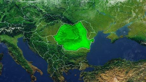 ROMANIA DIGITAL MAP