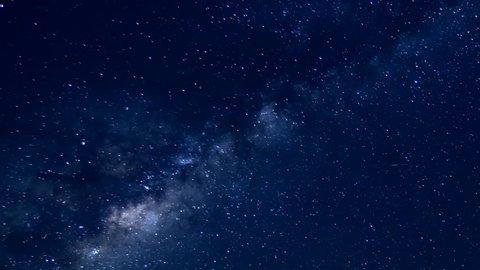 Perseid Meteor Shower Bristlecone Pine, night milky way clear skies, starry dark sky in sexy night. 1920x1080, Full HD 30 FPS.
