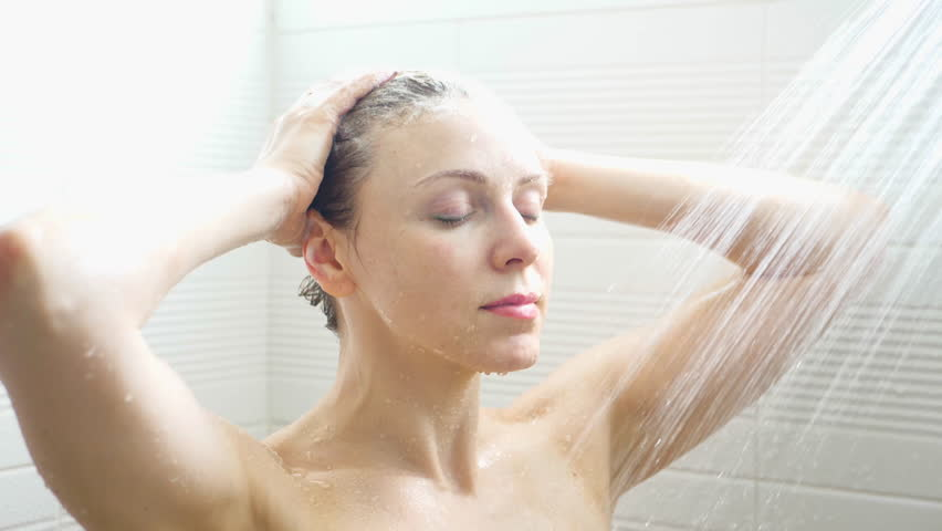Petite Beauty Taking Hot Shower Porn4days 1
