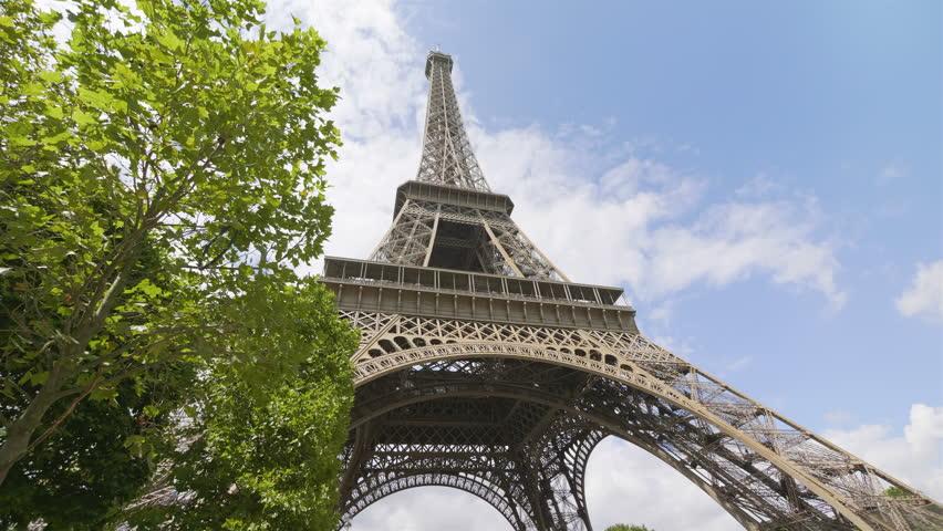 Eiffel Tower in Paris 4K #1009636715
