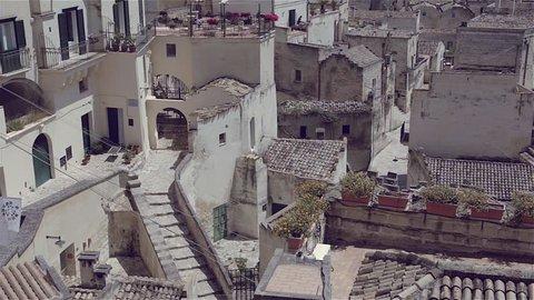 Matera basilicata italy view