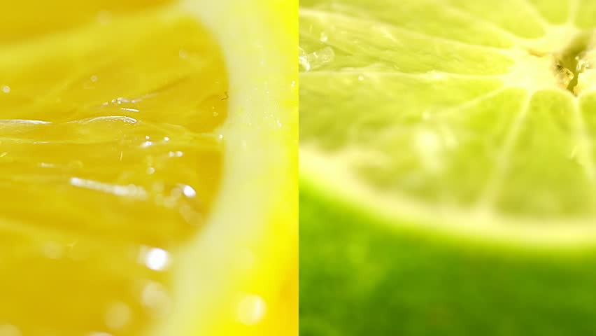 Citruses close up. Beautiful juicy yellow orange and green lime. Several frames on one video. citrus fruits collage | Shutterstock HD Video #1009919675