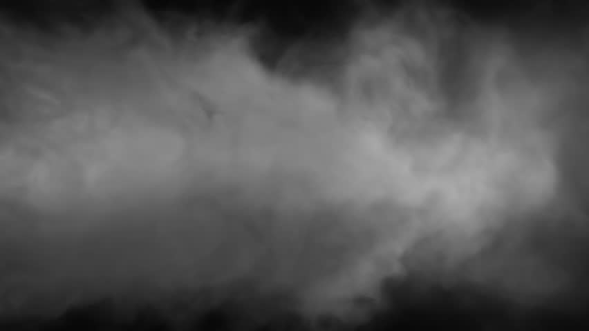 High Quality Grayscale Smoke Background Looped on black screen, 30 ips, High Definition Pre-Keyed stock footage element for compositing. Ideal for visual effects & motion graphics.  | Shutterstock HD Video #1010002055