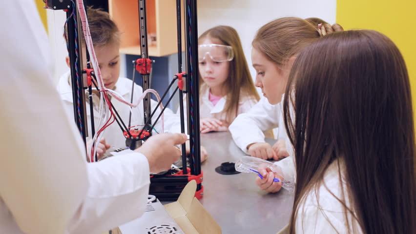 3D printing in children's education | Shutterstock HD Video #1010126825