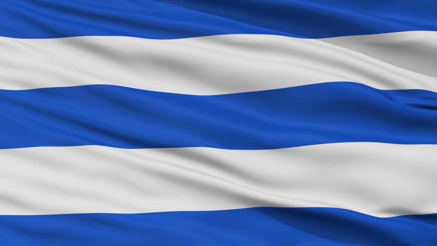 San Francisco de Sales  closeup flag, city of Colombia, realistic animation seamless loop - 10 seconds long   Shutterstock HD Video #1010188625