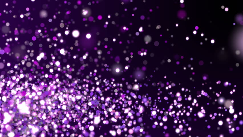 Purple glitter sparkles texture on dark background. Shiny abstract animation. | Shutterstock HD Video #1010214305