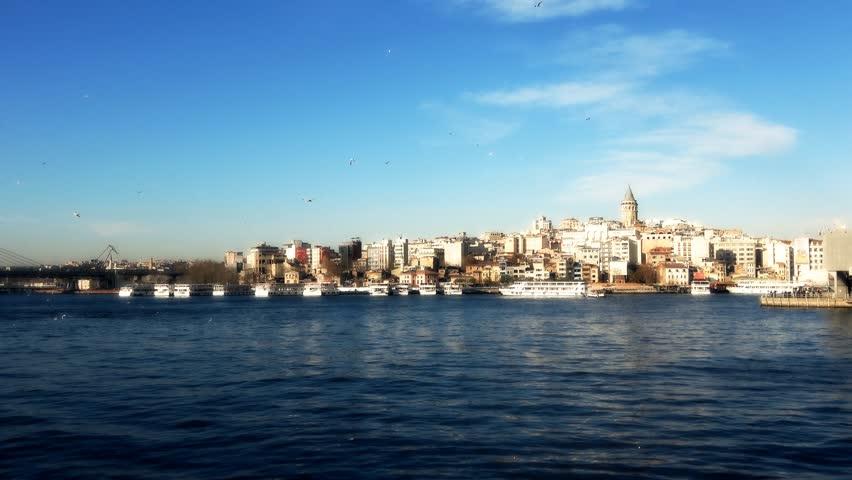 Galata Tower Istanbul Turkey  Series Video-2