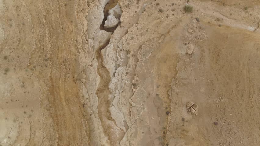 floods at Negev desert dead sea