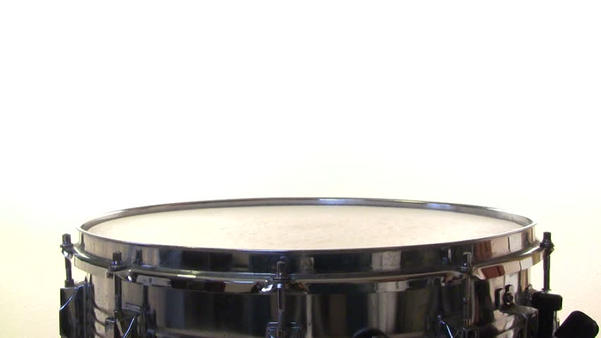 a snare drummer practicing a drum roll isolated on white background stock footage video 1010599. Black Bedroom Furniture Sets. Home Design Ideas