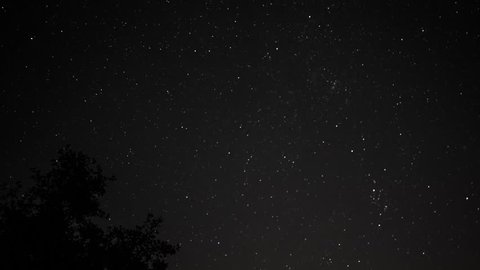 Night Sky Starlapse