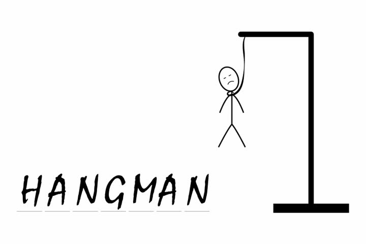 playing hangman game for To develop ideas And IQ of children for education.